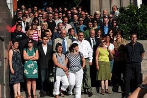 Udalbiltzako hautetsiak Espainiako Auzitegi Nazionalean dira