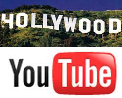 YouTube Hollywoodeko bideo-kluba izateko bidean