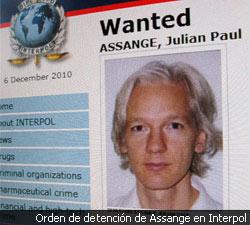 Wikileaks-en fundatzailea atxilotu dute