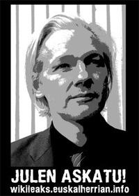 'Wikileaks Euskal Herrian' webgunea sortu dute