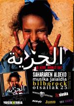 Sahararen aldeko musika jaialdia egingo da gaur Bilbon