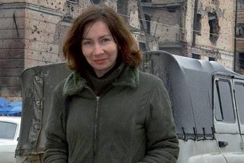 Txetxeniako nork hil zuen Natalia Estemirova?