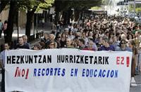 Nafarroako irakasleek greba egingo dute urriaren 27an