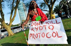Adostasunik gabe hasi da Hegoafrikan aldaketa klimatikoaren goi bilera