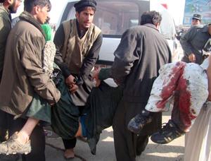 Xiitak lehen aldiz erasotu dituzte Afganistanen