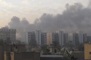 Iraken 60 hildako inguru eragin ditu AEBen okupazioaren ondorengo lehen erasoak