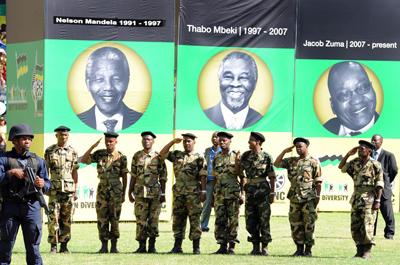 Hegoafrikako ANC alderdiak 100 urte bete ditu