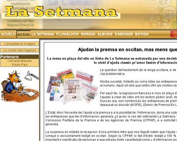 Kazeta.info-ri eta 'La Setmana' aldizkari okzitaniarraren proiektu digitalari diru-laguntza publikoa ukatu diete