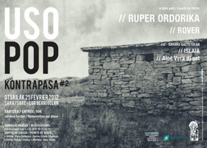 Usopop, musika berriak eta amalurra uztarturik Saran