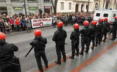 Saltoki txikien aldeko manifestazioa egingo da igandean Bilbon