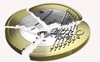 Euroak behera egin du, Grezia irten daitekeen beldur