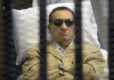 Mubarak kartzelan hilko da, baina ez guri esker