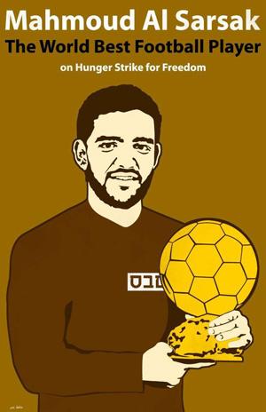 Mahmoud Sarsak preso palestinarrak 86 egun daramatza gose greban eta hilzorian da