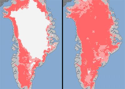Groenlandia sekula baino gehiago urtu da