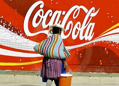 Boliviak kapitalismoaren amaiera iragarri eta Coca-Cola herrialdetik kanporatuko du