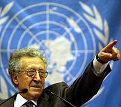 NBEren Siriarako mandatari karguan Lakhdar Brahimi izan daiteke Annanen ordezkoa