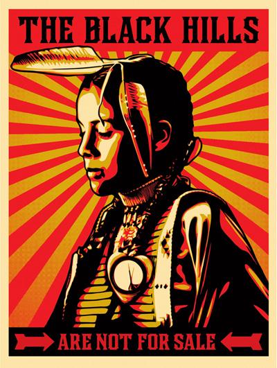 Dakota amerindiar herriak salgai zegoen beren gune sakratua erostea lortu du