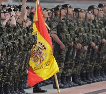 Militar talde batek Kataluniaren