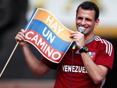 Euskal iheslariak estraditatzen lagunduko duela dio Capriles Venezuelako lehendakarigaiak