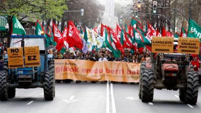 Euskal Herriko Elikadura Burujabetzaren aldeko Gizarte Aliantzak mobilizazioa deitu du urriaren 27an