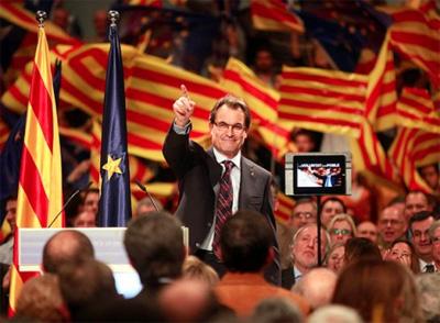 Kataluniarentzat erabakigarrienak izango diren hauteskundeen kanpaina hasi da