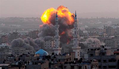 Israelek erasoak gogortzeko mehatxua egin du, suziri palestinarrak gelditzen ez badira