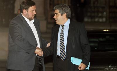 CiU-k eta ERC-k akordioa itxi dute: Independentziari buruzko kontsulta 2014an egingo dute Katalunian