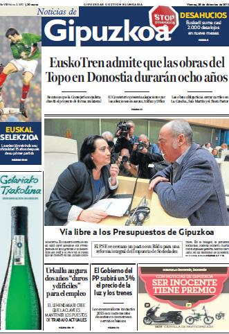 'Noticias de Gipuzkoa'-ko langileek greba egingo dute, lan baldintzak direla-eta