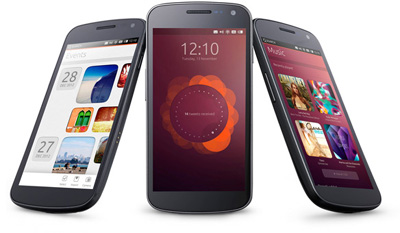 Ubuntu, telefono eta telebistetan