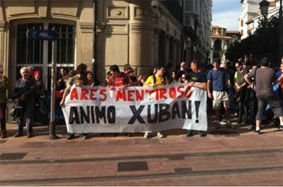 Artxibatu egin dute Xuban Nafarratek Ertzaintzaren aurka jarritako salaketa