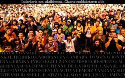 Desobedientzia zibilaren inguruko jardunaldiak otsailaren 20tik 23ra
