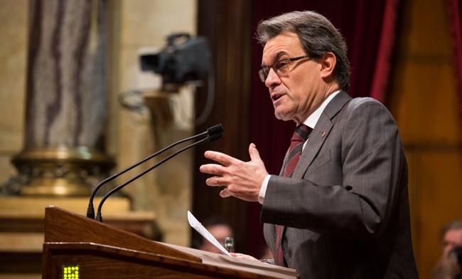 Kataluniako Parlamentuak burujabetza adierazpen historikoa onartu du