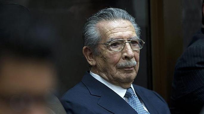 Guatemalako diktadore ohia, maien genozidioagatik akusatua