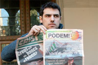 Enric Duran aurkitu, atzeman eta berehala kartzelan sartzeko eskatu dute