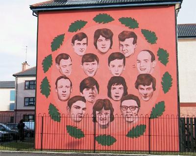 Bloody Sunday-ko biktimen familiei Londresek proposatu dien konpentsazio ekonomikoa: 50.000 libera familiako