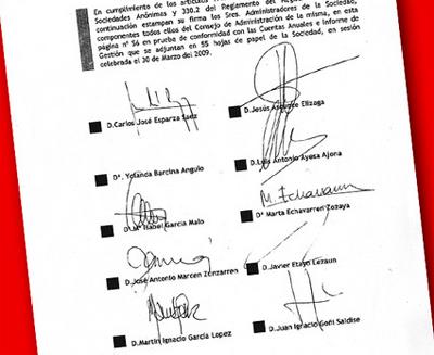 Barcinak 6.500 euro kobratu zituen Vinsa enpresa publikotik bileretara joan gabe