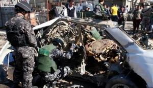 Hainbat leherketa Bagdaden, AEBek Irak inbaditu zuteneko urteurrenaren bezperan