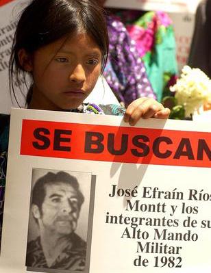Maien aurkako genozidioagatik Guatemalako diktadore ohia epaitzen ari dira
