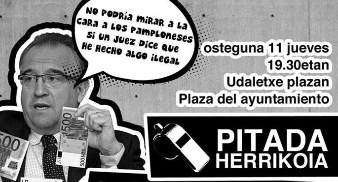 Iru�eko Udaleko oposizioko alderdiek Mayaren aurka planto egingo dute batzarrean