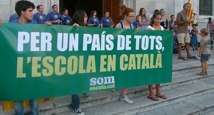 Ikasle bakarrak eskatuz gero, eskolak gaztelaniaz eman beharko dira Katalunian