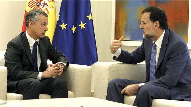 Presoen gaian Rajoyk ez du pausorik emateko asmorik, Urkulluk hala eskatu arren