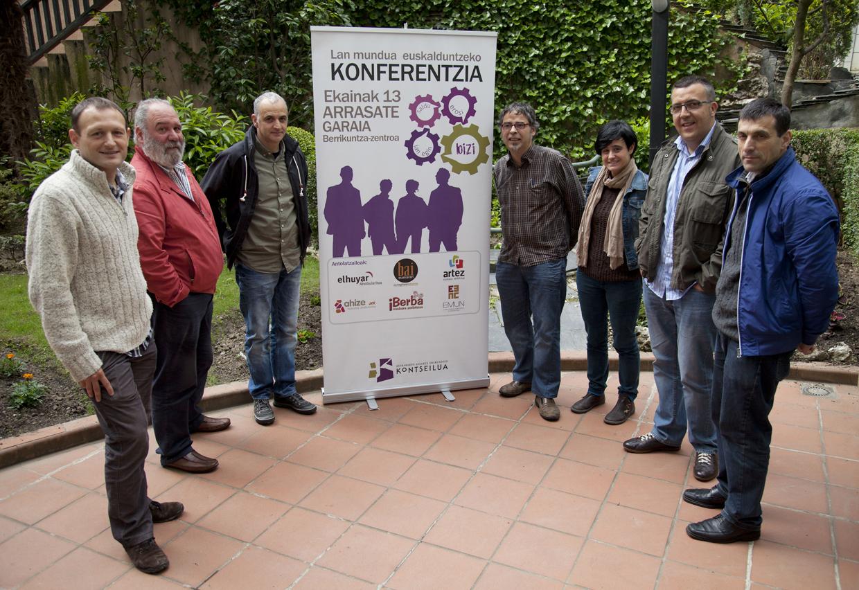 Lan mundua euskalduntzeari buruzko konferentzia antolatu du Kontseiluak