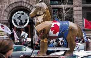 Frackingari ezetz esatea garesti ipini nahi dute Europak eta Kanadak