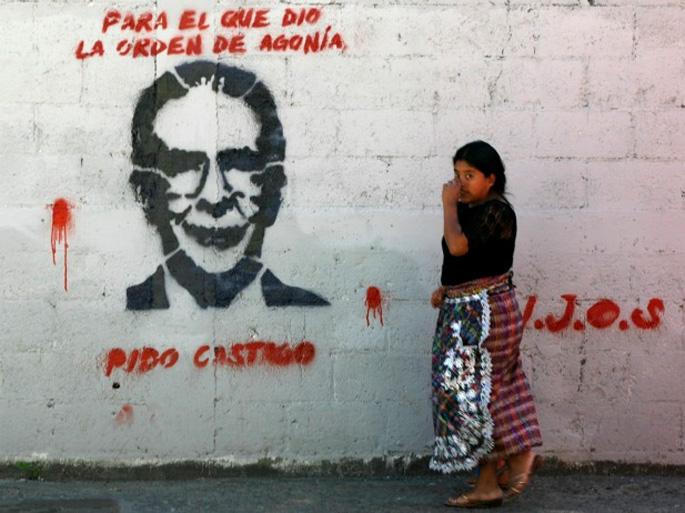 R�os Montt Guatemalako diktadore ohia genozidioagatik zigortu duen epaia baliogabetu dute