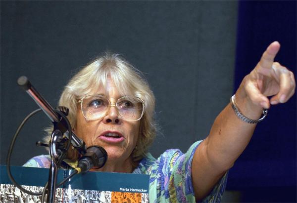 Marta Harnecker, Latinoamerikako ideologo marxista nagusietako bat, Donostian izango da