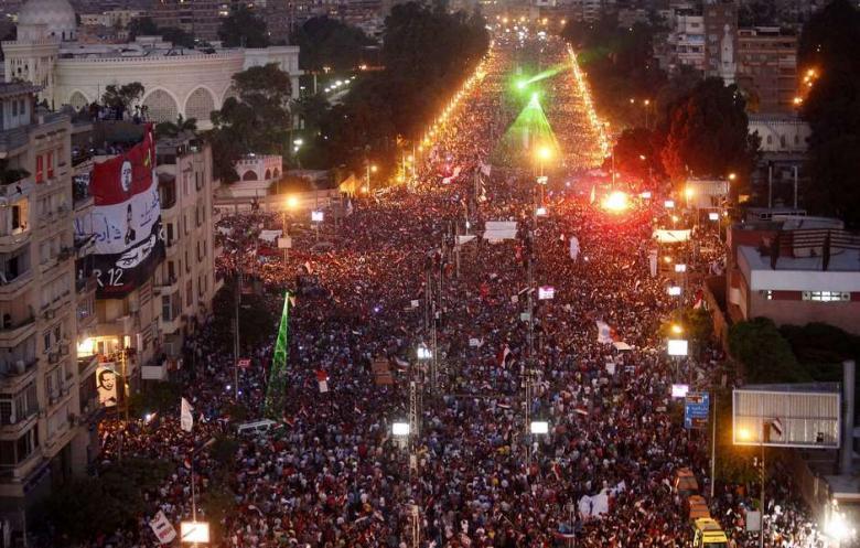 Estatu-kolpe usaina Egipton