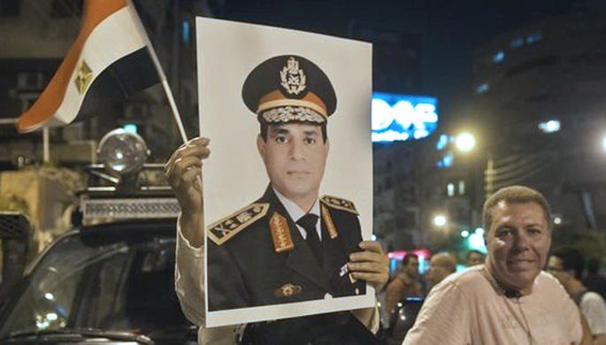 Estatu kolpea Egipton