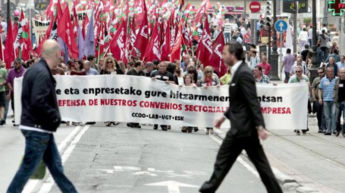 Hitzarmenen amaiera eta Espainiako Lan Erreformaren bestelako gaitzak