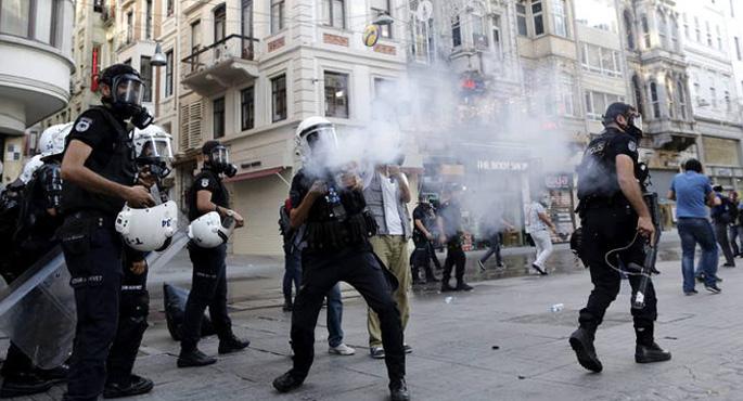 Istiluak berriro Turkian, Gezi parkea irekitzearekin batera