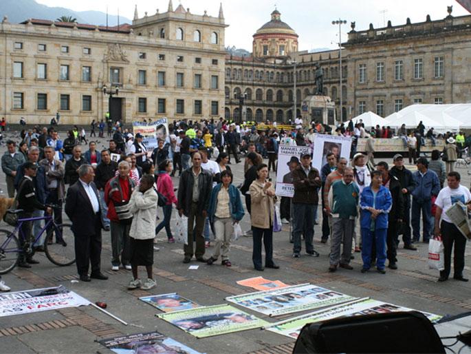 Kolonbiako biktimek bake prozesuan parte hartuko dute